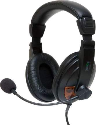Игровые наушники Dialog M-750HV Brown/Black