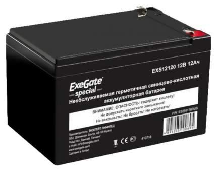 Аккумуляторная батарея 12 В для ИБП-UPS 12 А-ч EXS12120 клеммы F1