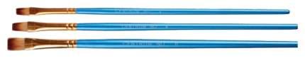 Набор кистей для рисования CENTRUM 84685 № 2, 4, 6 Высококачественный нейлон 3 шт