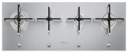 Встраиваемая варочная панель газовая Smeg PX1402 Silver