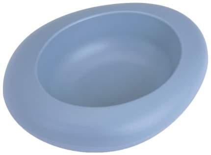 Одинарная миска для кошек и собак IMAC, пластик, голубой, 0.3 л