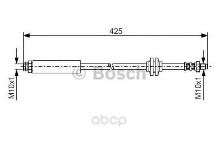 Шланг тормозной Bosch 1987476451