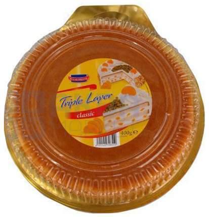 Коржи Fine Life для торта бисквитные с ароматом ванили круглые 400г