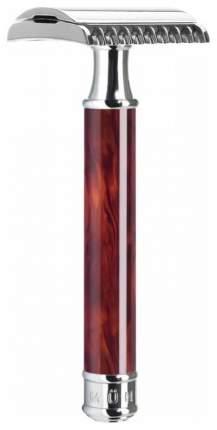 Т-образная бритва Muehle Traditional Т-образный Черепаховый open comb