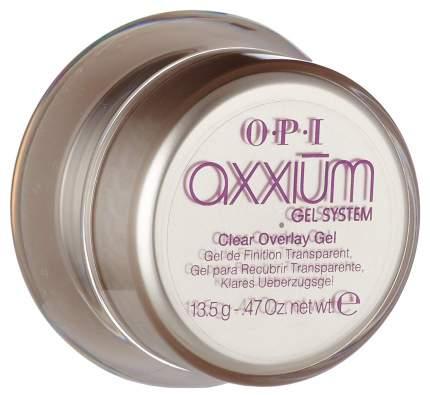 База для ногтей O.P.I Axxium Clear Overlay Gel 10 гр