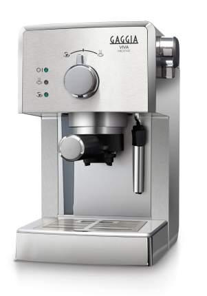 Рожковая кофеварка Gaggia Viva Prestige RI8437/11 Silver