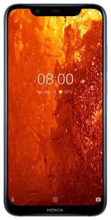Смартфон Nokia 8.1 64Gb Indigo