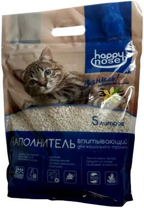Впитывающий наполнитель туалета для кошек Happy nose 5 л