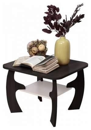 Журнальный столик Олимп-мебель Маджеста-5 TRM_1328427 70х70х52,2 см, венге/дуб линдберг