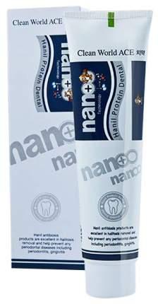 Зубная паста Hanil Nano Protein Dental с серебром и протеином 180 г