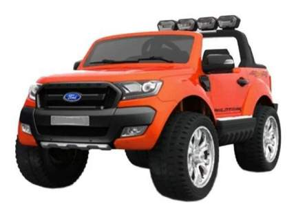 Электромобиль DAKE р/у Ford Ranger - Джип (на аккум., свет, звук), оранжевый