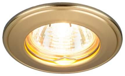 Встраиваемый светильник Elektrostandard 7002 MR16 GD Матовое Золото a037906
