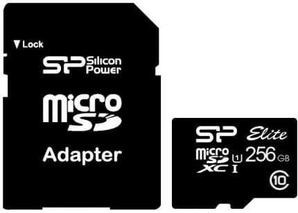 Карта памяти Silicon Power Micro SDXC Elite 256GB