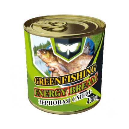 Добавка Green Fishing зерновая микс Energy Лещ 430 мл