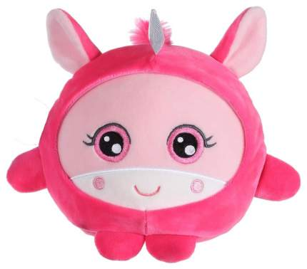Мягкая игрушка 1TOY Плюш. Розовый единорог 20 см