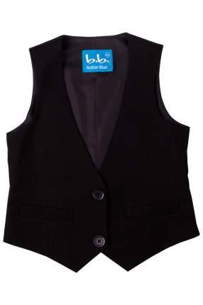 Жилет детский Button Blue черный р.140