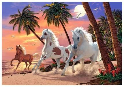 Пазл Кастор Белые лошади 1500 элементов C-151691