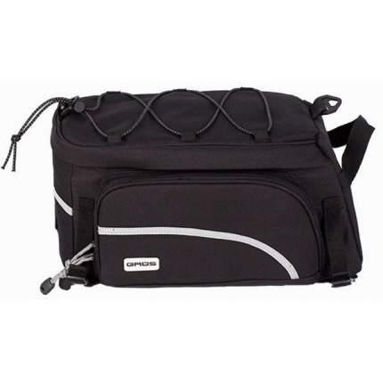 Велосипедная сумка Gros Rear Rack Bag черная