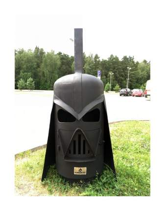 Уличный очаг Darth Vader