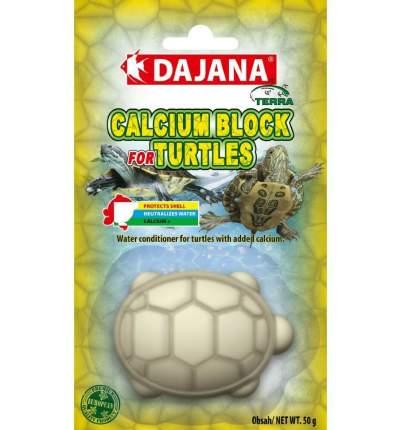 Камень минеральный для водных черепах Dajana Calcium Block, 50г