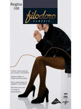 Колготки Filodoro Classic REGINA 100/Carbone/5 (XL)