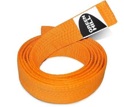 Пояс для карате Green Hill KBO-1014, 5/280, оранжевый