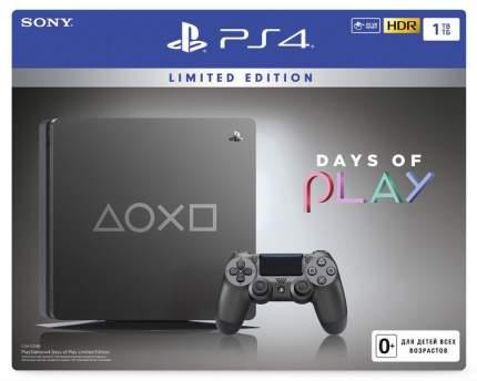 Игровая приставка Sony PlayStation 4 Slim 1 TB (CUH-2208B), Издание «Время Играть 2019»