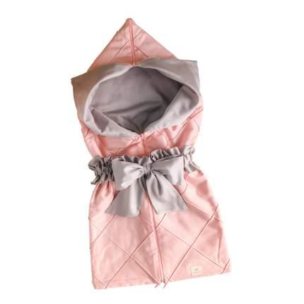 Конверт на выписку Little Vi Манчестер арт. 4018 розовый