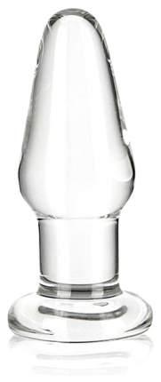 Прозрачный анальный плаг Glas 8 см