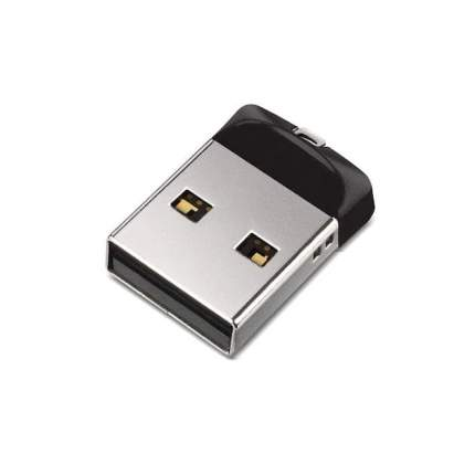 USB-флешка SanDisk Cruzer Fit 64GB Black (SDCZ33-064G-G35)