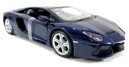 Машинка Maisto темно-синяя - Lamborghini Aventador LP700-4 2012г 1:24