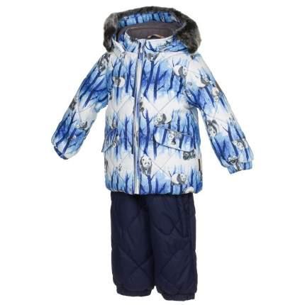 Комплект верхней одежды Huppa, цв. синий р. 92