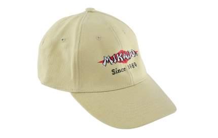 Бейсболка Mikado UM-UB016, бежевая, One Size