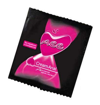 Гель-смазка Биоритм Creamanal ACC в одноразовой упаковке 4 г