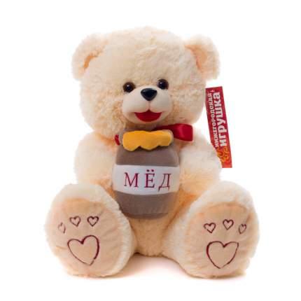 Мягкая игрушка Медведь с медом малый 45 см Нижегородская игрушка См-324-в-5