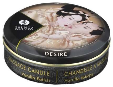 Массажная свеча Shunga Vanilla Fetish с ароматом ванили 30 мл