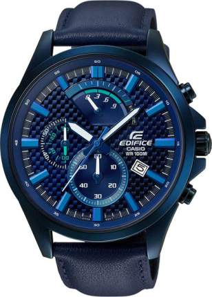 Наручные часы кварцевые мужские Casio Edifice EFV-530BL-2A