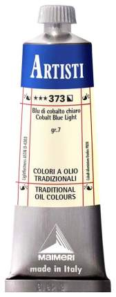 Масляная краска Maimeri Artisti кобальт синий светлый 40 мл