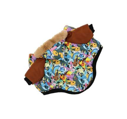 Куртка для собак FOR MY DOGS Покемоны, мужская, FW402-2017 12Chh