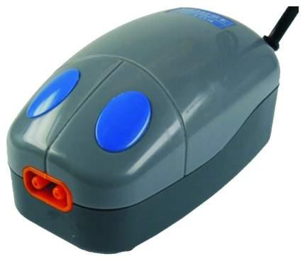 Компрессор для аквариума KW ZONE Mouse-104 двуканальный, 2,5 л/мин