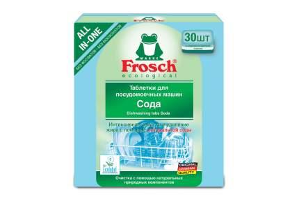 Таблетки для посудомоечной машины Frosch сода 30 штук