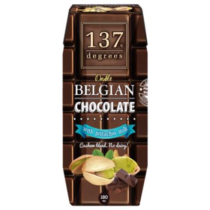 Молоко фисташковое 137 Degrees с бельгийским шоколадом 180 мл