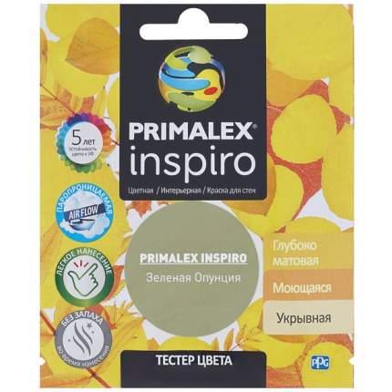 Краска для внутренних работ Primalex Inspiro Тестер 40мл Зеленая Опунция, PMX-I39