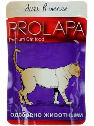 Влажный корм для кошек Prolapa, дичь в желе, 100г
