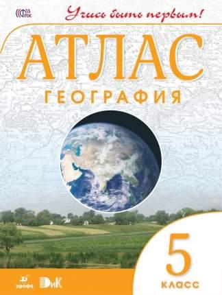 Атлас, География, 5 кл, Дик (Фгос) Учись Быть первым! Новый