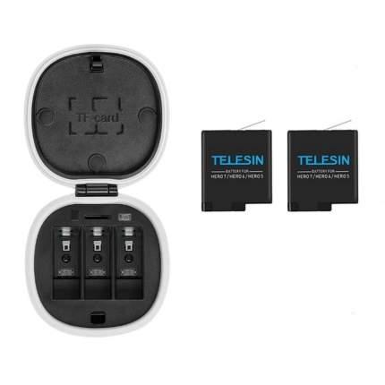 Зарядное устройство ALLIN + 2 акб Telesin GP-BnC-701 для GoPro Black