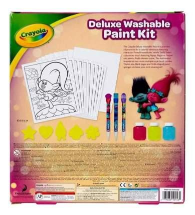 Набор с красками тролли делюкс