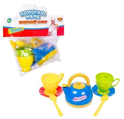 Набор детской посуды ABtoys Помогаю Маме 7 предметов