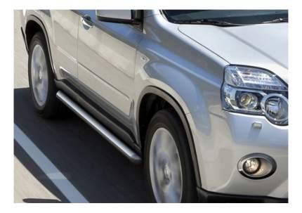 Защита порогов RIVAL для Nissan (R.4113.007)