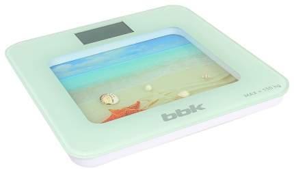 Весы напольные BBK BCS7001 White Blue